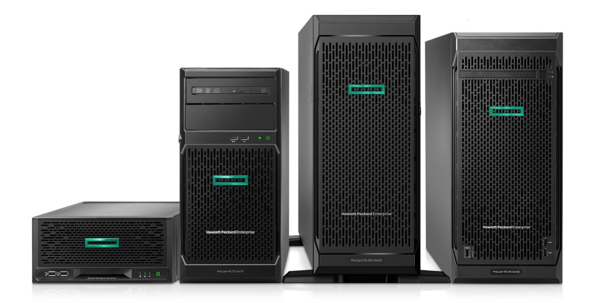 Серверы HPE ProLiant ML