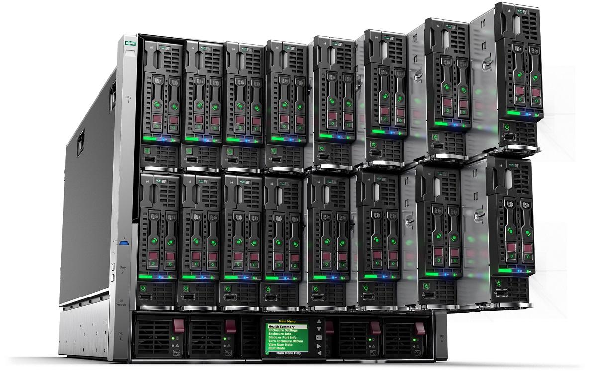 Серверы HPE ProLiant Blade
