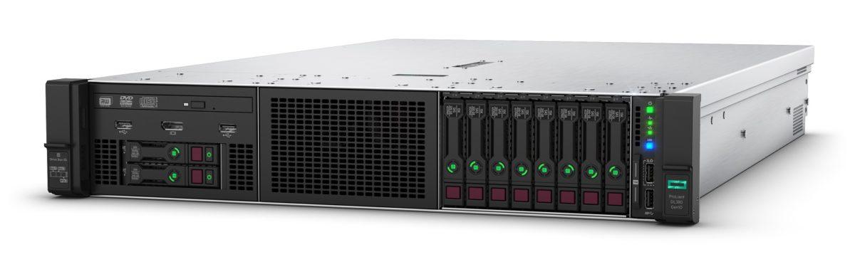 Сервер HPE ProLiant DL380 Gen10 - SFF Left Facing Front