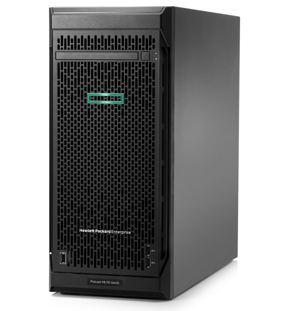 Сервер HPE ProLiant ML110 Gen10 - Front-Left